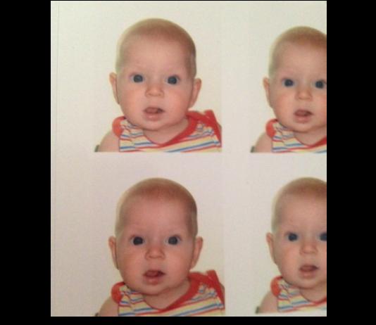 Baby passport pics