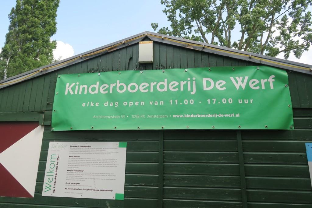 Amsterdam with kids - Kinderboerderij De Werf